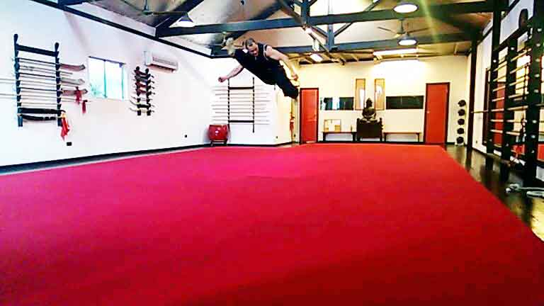 Airborne Kick