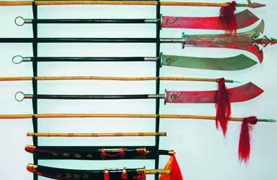 Kung Fu Short Weapons