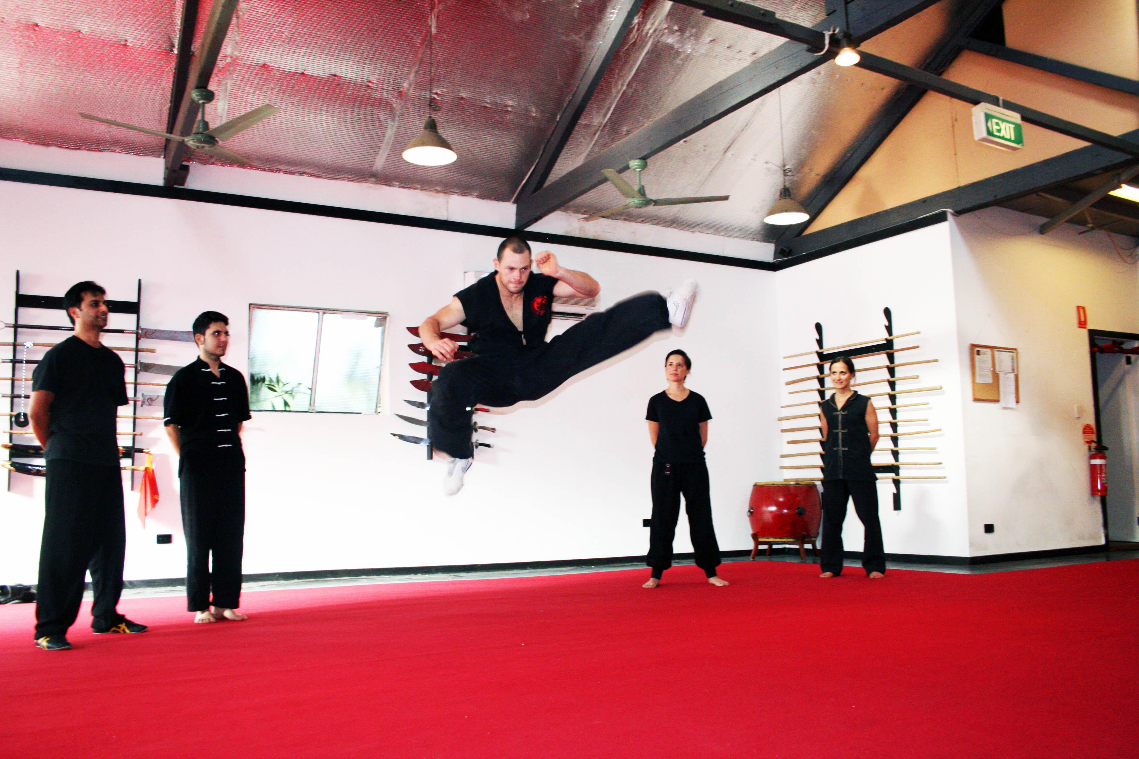 Jumping Kick 2